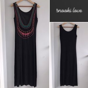 Snooki Love Crochet Maxi Dress